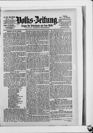 Volks-Zeitung vom 01.05.1899