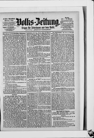 Volks-Zeitung vom 03.05.1899