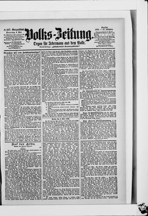 Volks-Zeitung on May 4, 1899