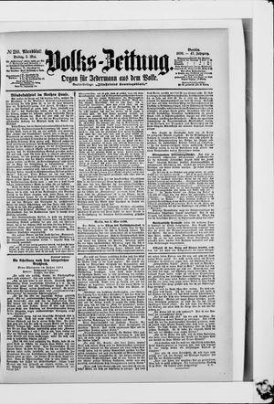 Volks-Zeitung vom 05.05.1899