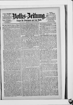 Volks-Zeitung vom 08.05.1899