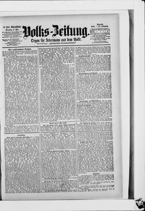 Volks-Zeitung vom 09.05.1899
