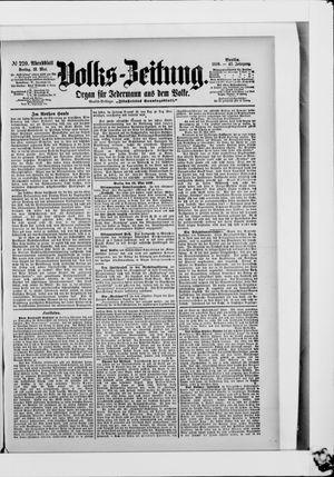 Volks-Zeitung vom 12.05.1899