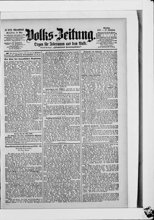 Volks-Zeitung vom 13.05.1899