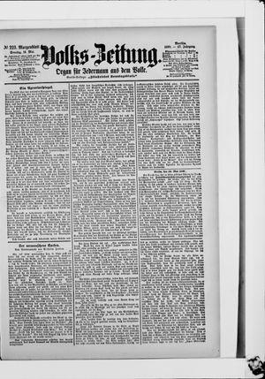 Volks-Zeitung vom 14.05.1899