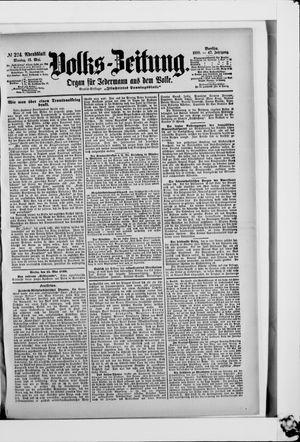 Volks-Zeitung vom 15.05.1899