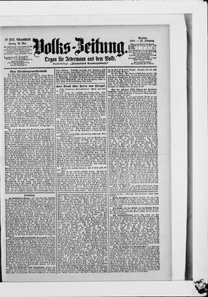 Volks-Zeitung vom 19.05.1899