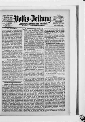 Volks-Zeitung vom 24.05.1899