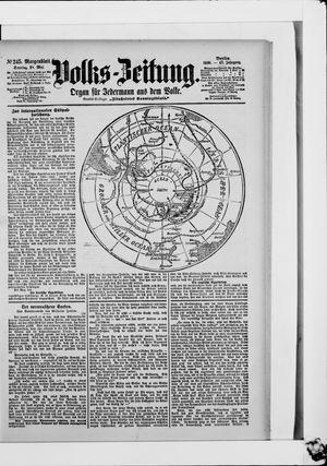 Volks-Zeitung vom 28.05.1899
