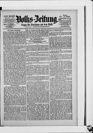 Volks-Zeitung vom 01.06.1899
