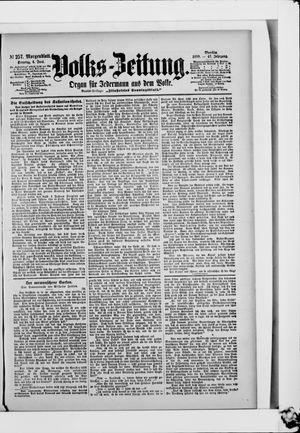 Volks-Zeitung vom 04.06.1899