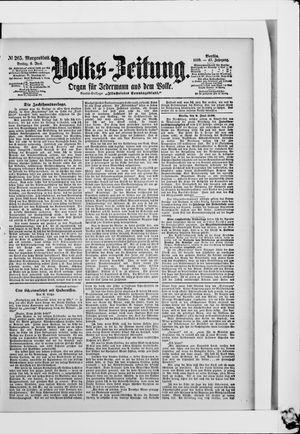 Volks-Zeitung vom 09.06.1899