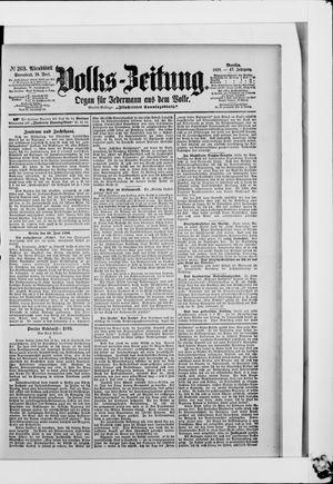 Volks-Zeitung vom 10.06.1899