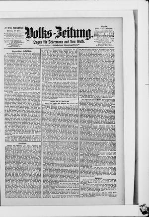 Volks-Zeitung vom 19.06.1899