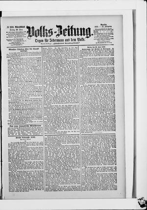 Volks-Zeitung vom 23.06.1899