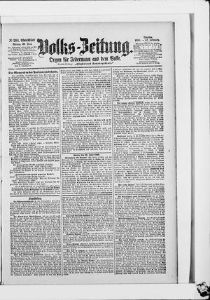 Volks-Zeitung vom 26.06.1899