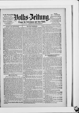 Volks-Zeitung vom 27.06.1899