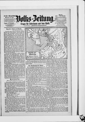 Volks-Zeitung vom 28.06.1899