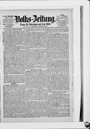 Volks-Zeitung vom 03.07.1899