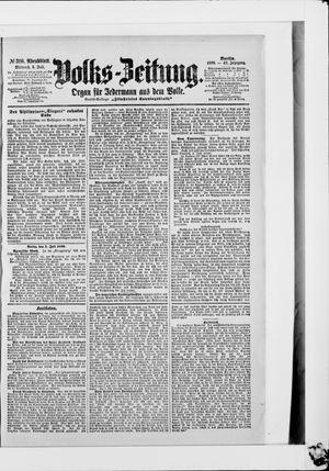 Volks-Zeitung vom 05.07.1899
