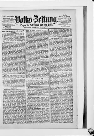 Volks-Zeitung vom 06.07.1899