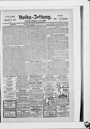 Volks-Zeitung vom 08.07.1899