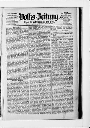 Volks-Zeitung vom 02.01.1900