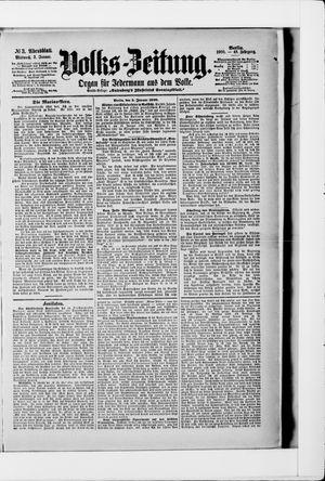 Volks-Zeitung vom 03.01.1900