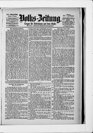 Volks-Zeitung vom 05.01.1900