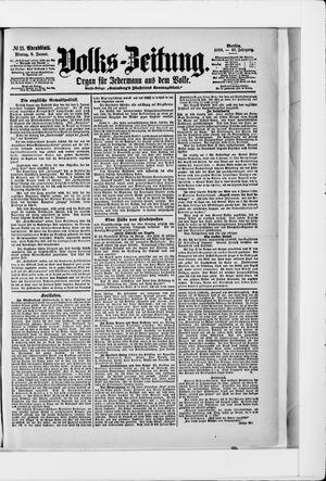 Volks-Zeitung vom 08.01.1900