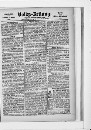 Volks-Zeitung vom 09.01.1900