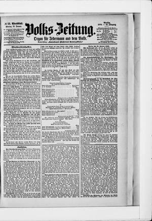 Volks-Zeitung vom 15.01.1900