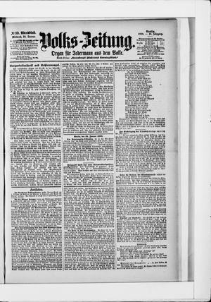Volks-Zeitung vom 24.01.1900