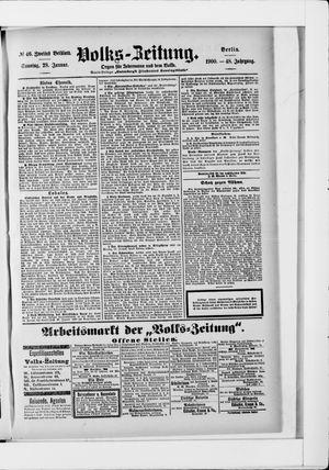 Volks-Zeitung vom 28.01.1900