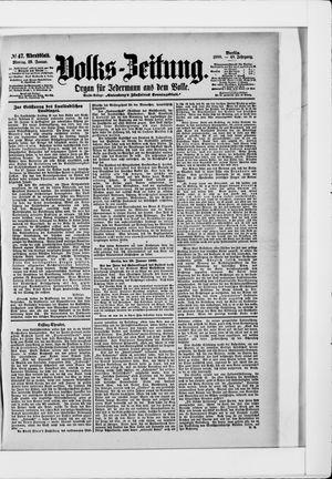 Volks-Zeitung vom 29.01.1900