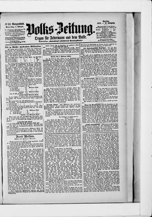 Volks-Zeitung vom 01.02.1900
