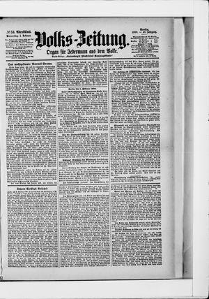 Volks-Zeitung on Feb 1, 1900
