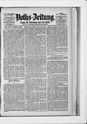Volks-Zeitung vom 02.02.1900