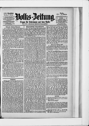 Volks-Zeitung vom 06.02.1900