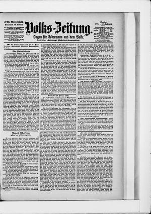 Volks-Zeitung vom 10.02.1900