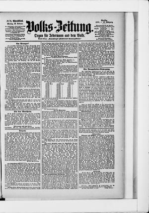 Volks-Zeitung vom 12.02.1900