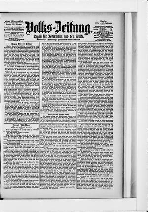 Volks-Zeitung vom 23.02.1900