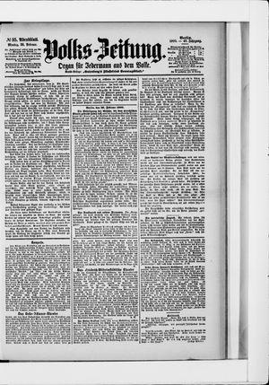 Volks-Zeitung on Feb 26, 1900