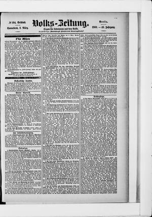 Volks-Zeitung vom 03.03.1900