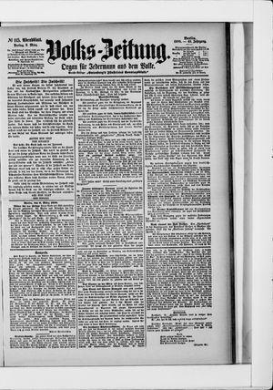 Volks-Zeitung vom 09.03.1900