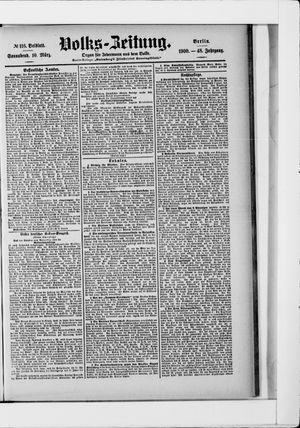 Volks-Zeitung vom 10.03.1900
