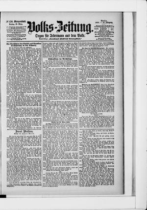 Volks-Zeitung vom 16.03.1900