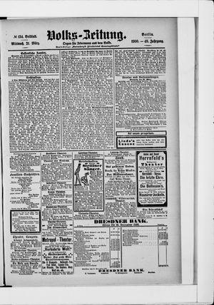 Volks-Zeitung vom 21.03.1900
