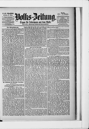 Volks-Zeitung on Mar 27, 1900