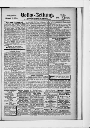 Volks-Zeitung vom 28.03.1900